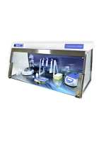 DNA/RNA DOUBLE-UV-CLEANER BOX, PCR-WORKSTATION